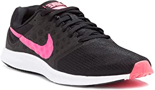 Nike Womens WMNS Downshifter 7 Black Racer Pink White Size 10.5