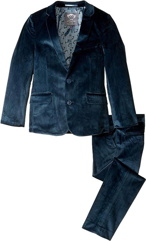 Mallard Blue Velvet