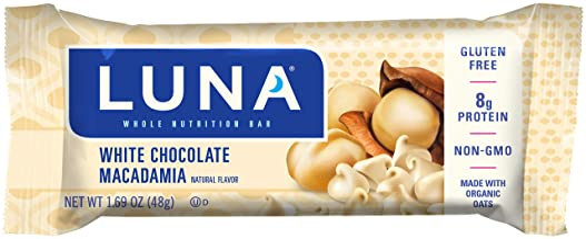 Clif Luna Bar 0 960 kg White Chocolate Macadamia 15-Piece Estimated Price : £ 37,95