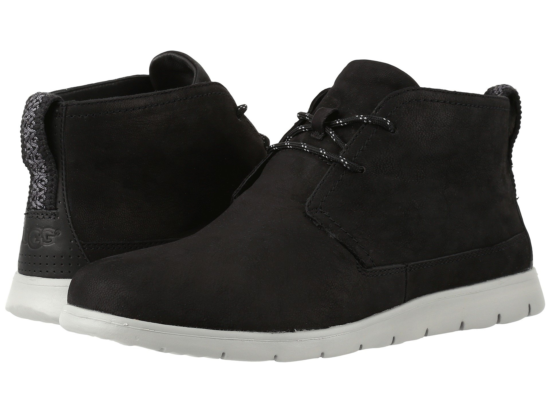 UGG Freamon Capra (Black) Men's Lace-up Boots