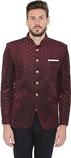 Men's Velvet Grandad Nehru Blazer Coat Jacket