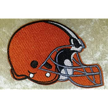 Cleveland Browns Iron on patch Football patch//Iron patches//Embroidered patch