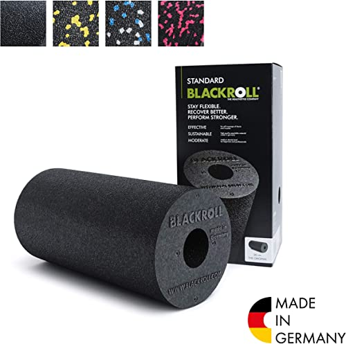 BLACKROLL STANDARD Foam roller (medium density) - The original - High quality durable fascia roller - Increase well b...