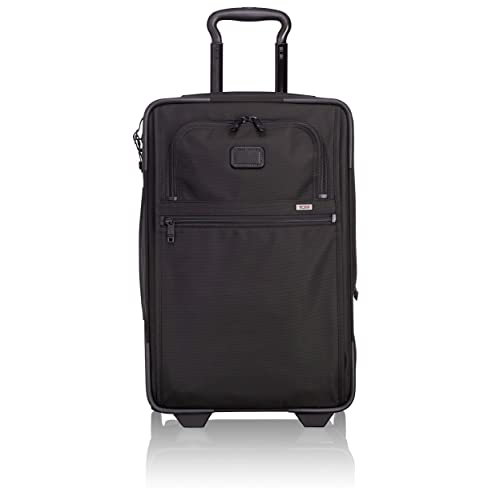 bde468990 TUMI - Alpha 2 International Expandable Wheeled Carry-On Luggage - 22 Inch  Rolling Suitcase