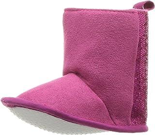 Luvable Friends Kids' Winter Glitter Fashion Boot