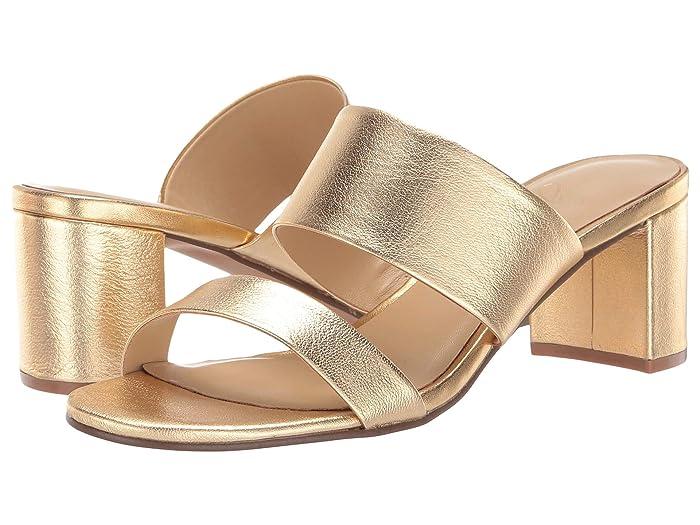 42 GOLD  Liya (Gold Metallic) Womens Sandals