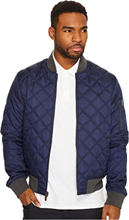 Original Penguin - Reversible Diamond Quilted Bomber