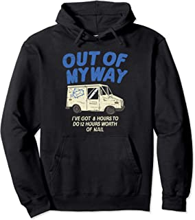 Delivery Driver Clothing Joke Gifts Delivery Truck Design Pullover Hoodie