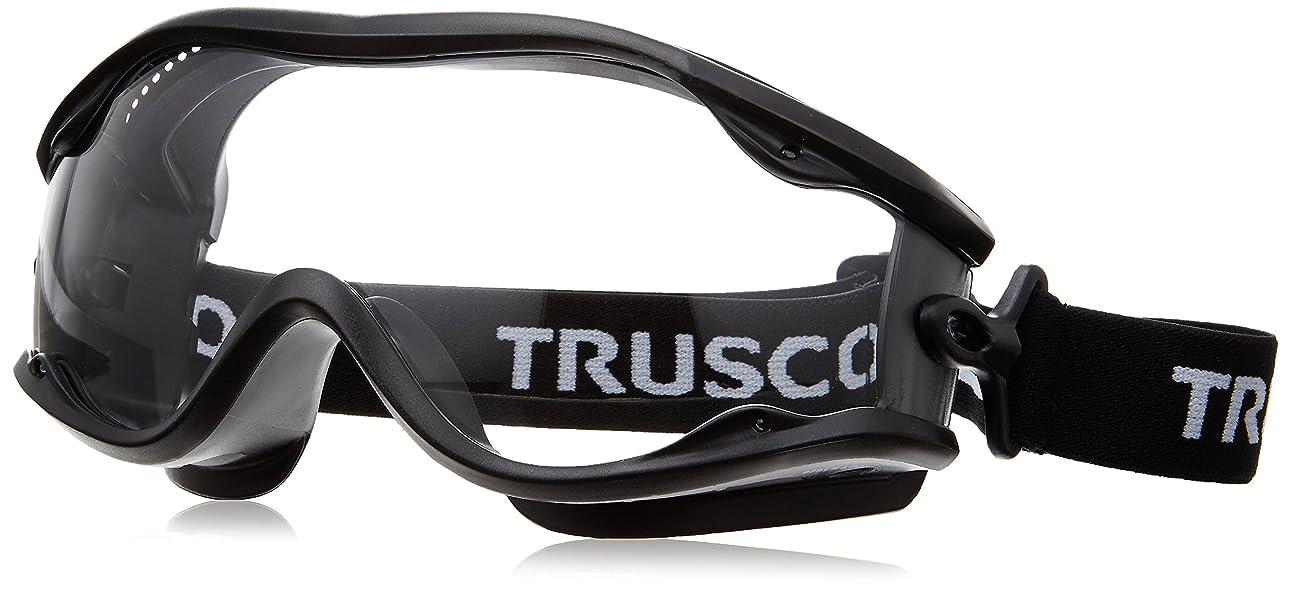 規定クマノミ確かなTRUSCO セーフティゴーグル(ワイドビュータイプ )フレーム黒 TSG22BK