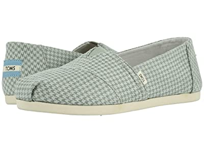 TOMS Alpargata 3.0 (Baby Blue Mini Houndstooth) Women