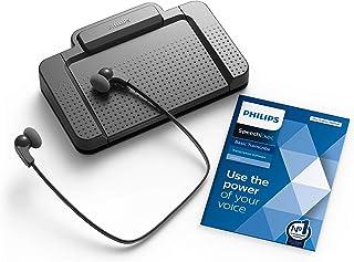 Philips LFH7177/06 - Kit di riproduzione con interruttore a pedale ergonomico USB ACC2330, cuffie stereo, LFH0334, softwar...