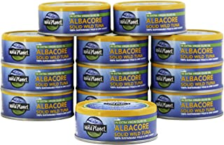 Wild Planet Albacore Wild Tuna in Extra Virgin Olive Oil, Keto and Paleo, 3rd Party..