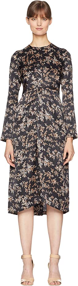 Eden Branch Twist Drape Dress