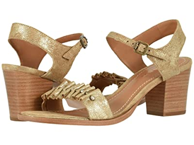 Trask Carrie (Gold Metallic Suede) Women