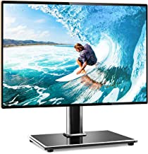 Rfiver Universal Table Top TV Stand TV Base Replacement for Most 27 30 32 39 40 42 43 46..