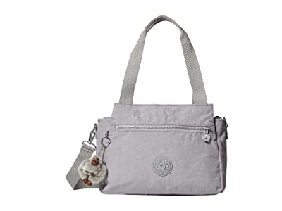 Kipling Elysia Satchel (Slate Grey 1) Satchel Handbags