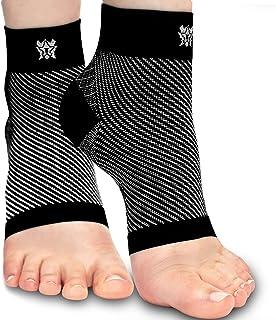 Bitly Plantar Fasciitis Compression Socks for Women & Men - Best Ankle Compression Sleeve, Nano Brace for Everyday Use - P...