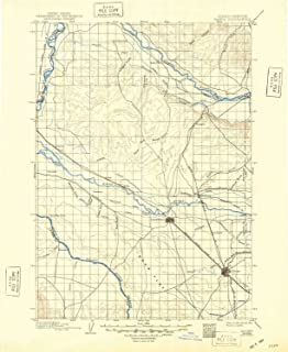 YellowMaps Nampa ID topo map, 1:125000 Scale, 30 X 30 Minute, Historical, 1898, Updated 1948, 20.8 x 17 in