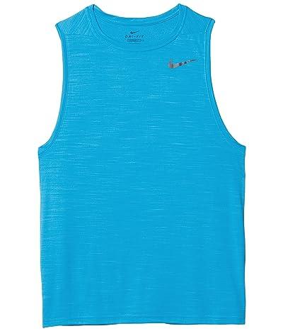 Nike Superset Top Tank (Laser Blue/Black) Men