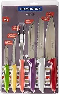 Tramontina 23498/916 Juego de cuchillos de cocina, Acero Inoxidable