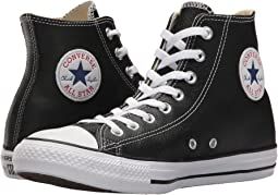 5059a940be Converse chuck taylor all star leather hi black monochrome + FREE ...