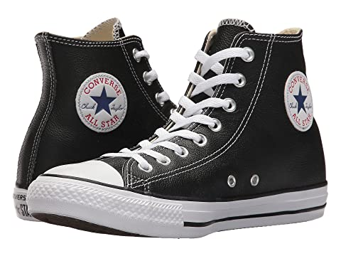 Converse Chuck Taylor® All Star® Leather Hi at Zappos.com 9347e928c