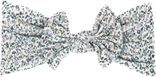 The Dearest Grey, A Baby Bow That Grows With Baby, Buttery Soft, Ages:Newborn+