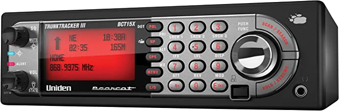 Uniden BearTracker Scanner (BCT15X) with 9,000 Channels, TrunkTracker III Technology,..