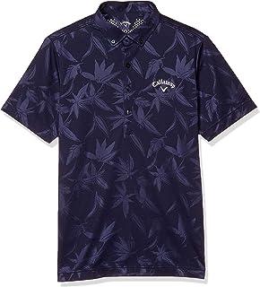 [キャロウェイ] [メンズ] 半袖 ポロシャツ 速乾 (ウエストボックス柄) / 241-0134528 / ゴルフ ウェア
