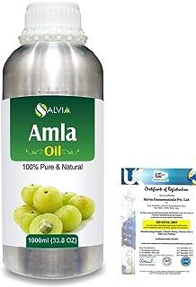 Amla Herbal (Phyllanthus emblica) 100% Natural Pure Oil 1000ml/33.8fl.oz.