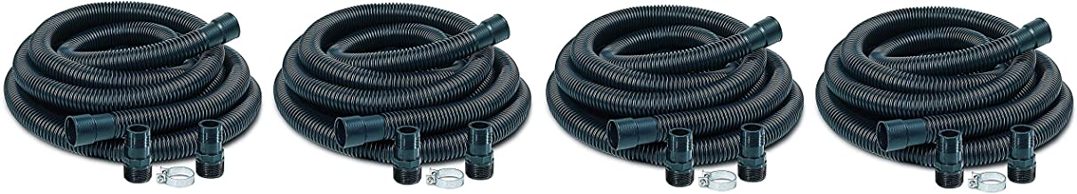 "Little Giant SPDK Sump Pump Discharge Hose Kit, 1-1/4"" Hose – 1-1/2"" & 1-1/4"".."