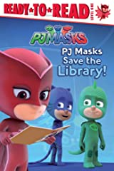 PJ Masks Save the Library!: Ready-to-Read Level 1 Kindle Edition