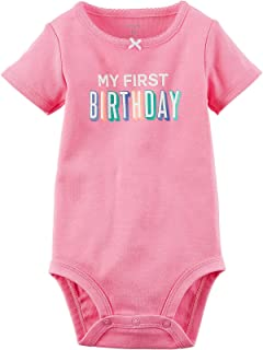 My First Birthday Bodysuits
