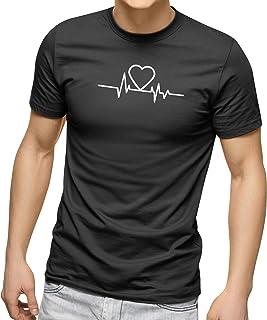 CREO Customized Round Neck Shirt - Heartbeat Design