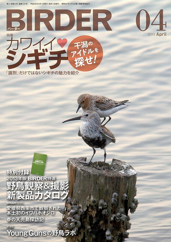粗い稚魚姓BIRDER (バーダー) 2013年 04月号 [雑誌]