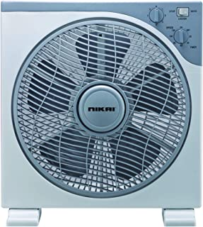 Nikai Electric Table Fan ,Grey , NF755N1