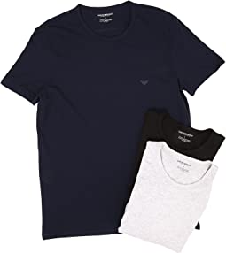 716e3308 Emporio armani yarn dyed cotton henley t shirt | Shipped Free at Zappos