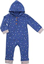 Asher & Olivia Baby Romper Hooded Baby Boy Jumpsuit Long-Sleeve Coverall Hoodie