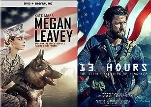 True Heroic Stories Of Marines: 13 Hours & Megan Leavey Double Feature 2-DVD Movie War Bundle