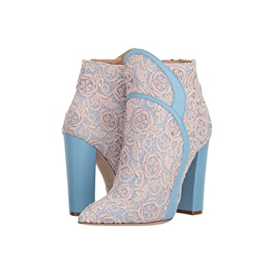 Racine Carree Embroidered Bootie (Embroidery) Women