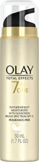 Olay Total Effects Fragrance Free Featherweight Moisturizer with SPF 15, 1.7 Fluid Ounce  Packaging may Vary