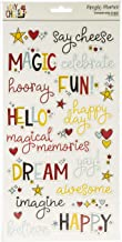 SIMPLE STORIES SAY CHEESE4 Stickers 6X12 Words, One Size