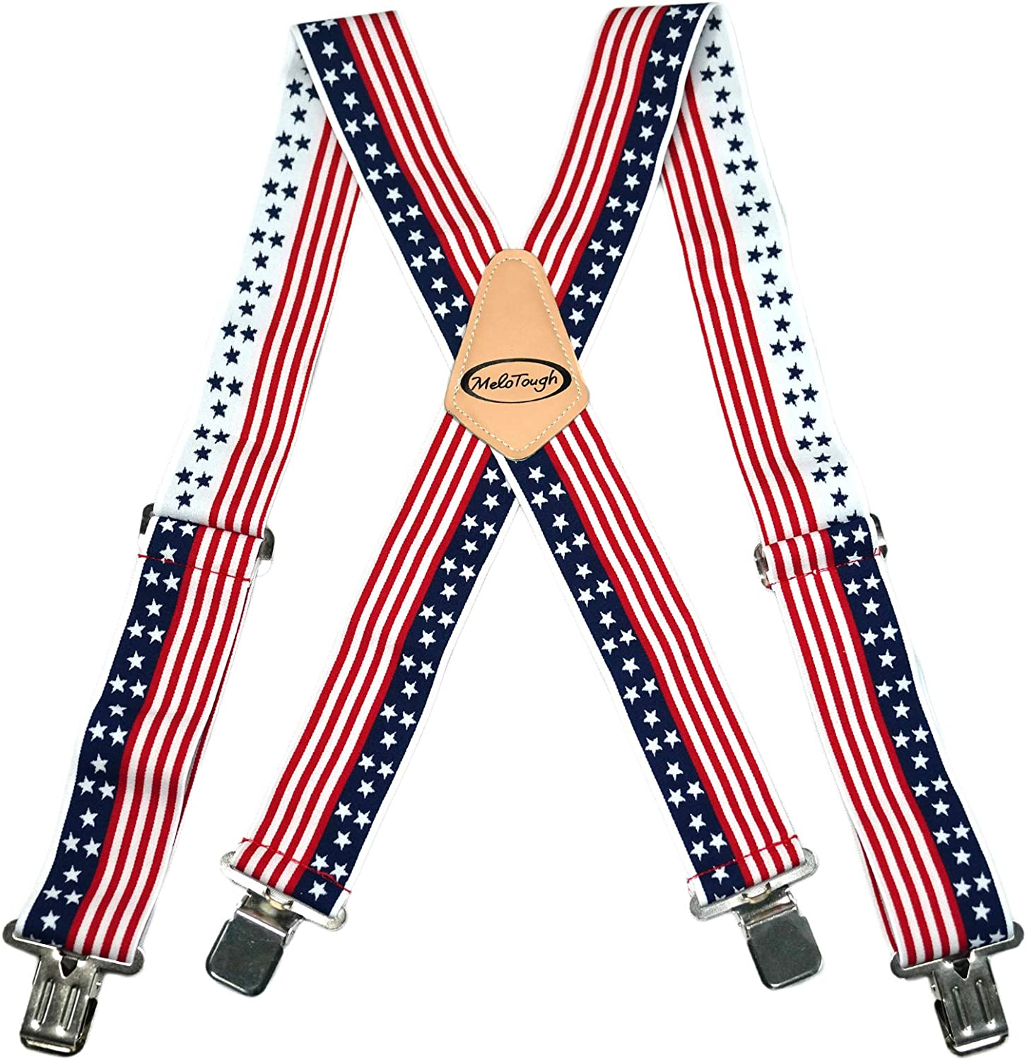 Challenge the lowest price American Flag Pattern X-back Mens Wide 2