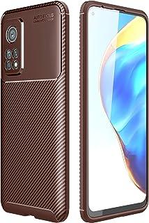 جراب TingYR لهاتف Xiaomi Mi 10T Pro 5G، فائق النحافة من مادة TPU لامتصاص الصدمات، مقاوم للخدش، غطاء مطاطي مرن ممتاز، غطاء ...