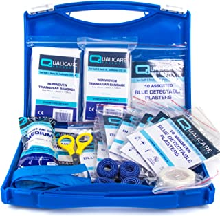 Catering First Aid Kit - Kitchen Safety Protection Blue