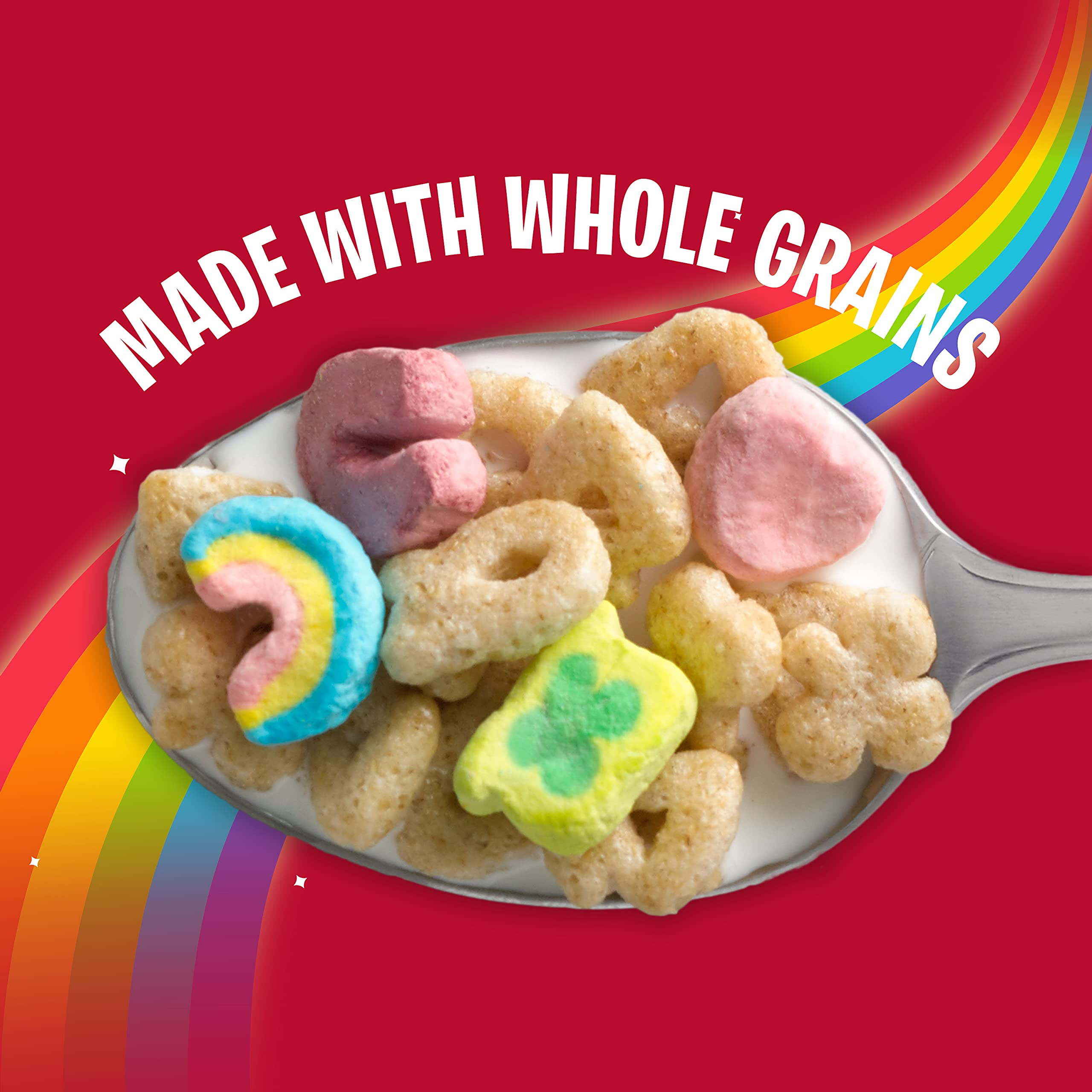 Lucky Charms, Gluten Free Marshmallow Breakfast Cereal with Unicorns, 26.1 oz