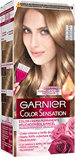 Garnier Color Sensation - Tinte Permanente Rubio 7, disponible en más de 20 tonos