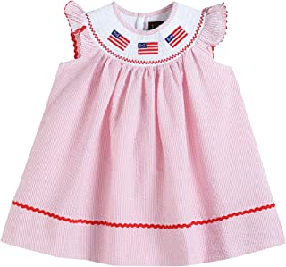american flag smocked dress