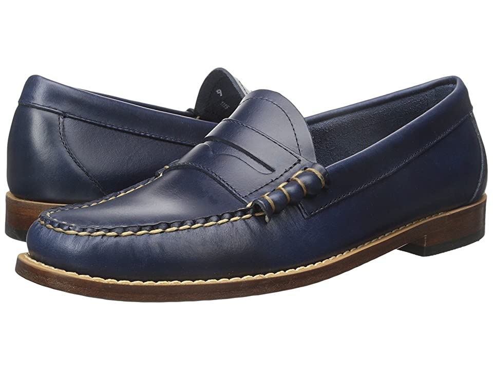 G.H. Bass & Co. Larson Weejuns (Blue Pull-Up) Men