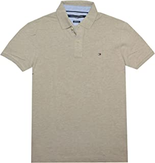 TOMMY HILFIGER Men's Short Sleeve Polo Shirt in Slim Fit